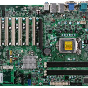 ATX motherboard with 3x PCI on 3-slot riser expansion slots and 2nd Gen Core i-series with Intel B65 PCH chipset