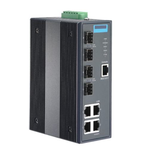 ETH346 4Gx+4SFP Managed Ethernet Switch with Class I, Div 2-0
