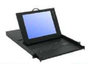 """KVD083 17"""" LCD Rackmount Keyboard Console with 8-Port KVM Switch-0"""
