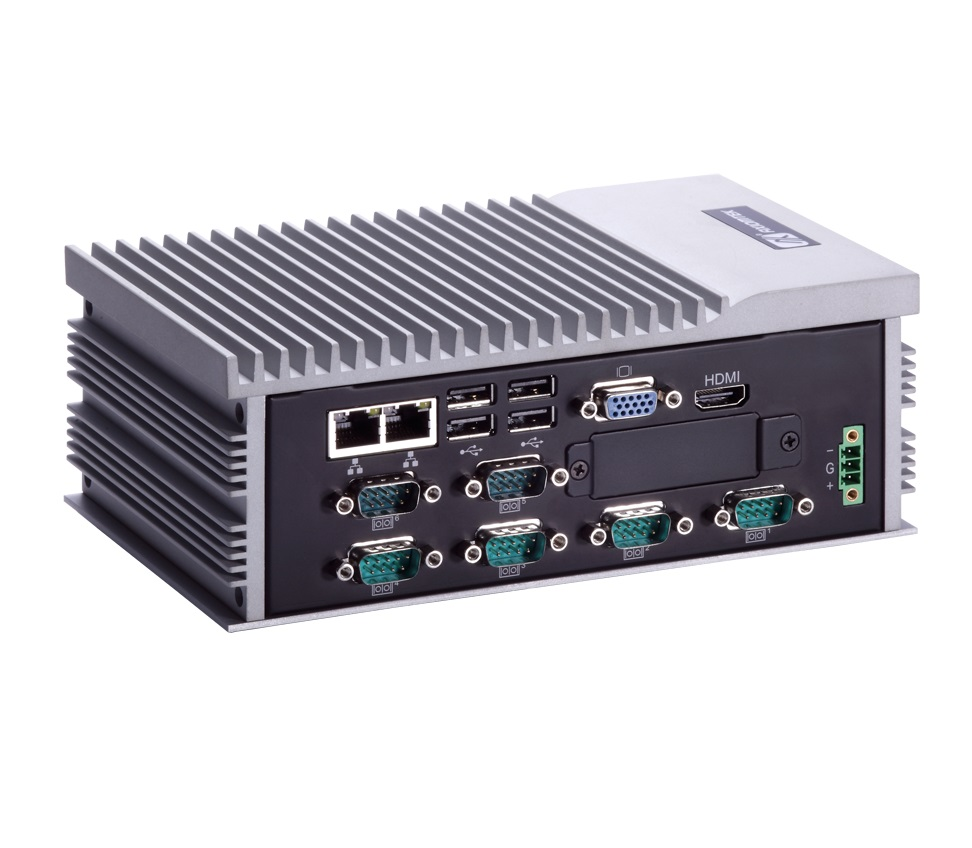 EBX278 Fanless Embedded System with 6x COM-2077