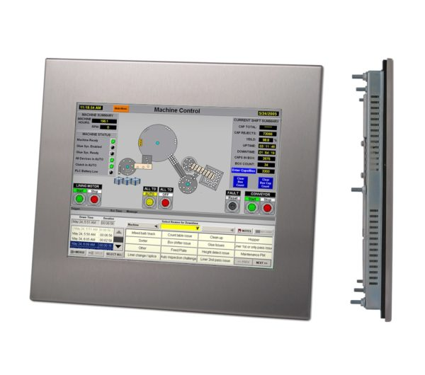 """DIS210 12.1"""" LCD High Brightness Touchscreen Industrial Monitor-0"""