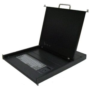 PER193 Rackmount Keyboard Console with Touchpad-0