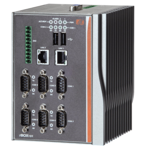 EBX279 Wide Temperature Fanless Embedded System with 6x COM and 1x DIO-0