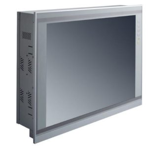 "PAN368 17"" LCD Slim Touch Panel PC Left"