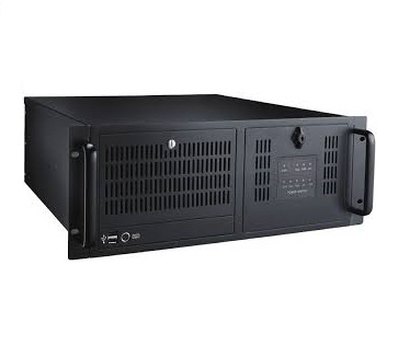 "4U black industrial rackmount chassis with 3x 5.25"" External; 1x 3.5"" External drive bays"
