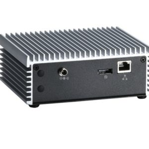 EBX423 Fanless Embedded System Rear View