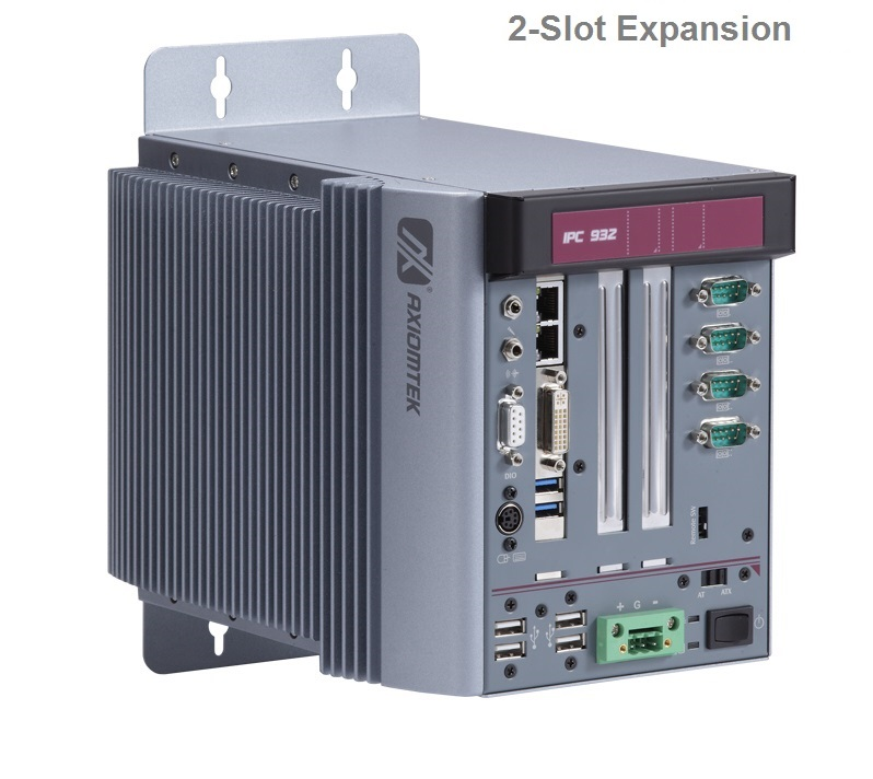 F230-2 Fanless Embedded System Front View