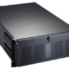 "4U black industrial rackmount chassis with 3x 5.25"" External; 2x 3.5"" External drive bays"