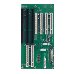 Backplane with 4x PCI; 1x ISA expansion slots