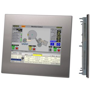 "DIS210 12.1"" LCD High Brightness Touchscreen Industrial Monitor-0"