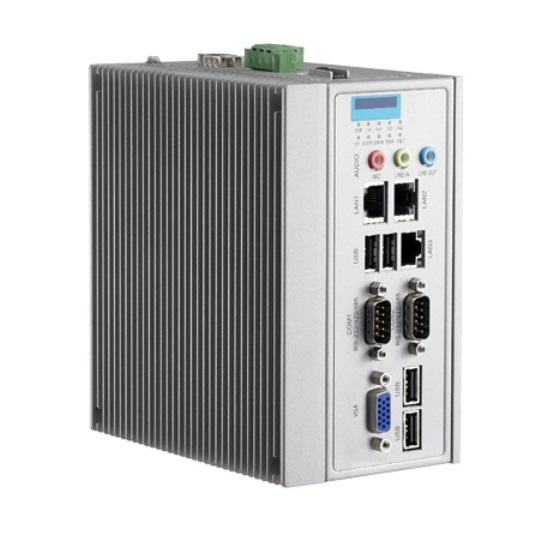 EBX345 Wide Temperature Fanless Embedded System with 2x COM and Class I, Div 2-0