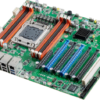 ATX Motherboard with 1x PCI / 5x PCIex16 / 1x PCIex8 Expansion Slots and Xeon E5 Processor with Intel C602J Chipset 2nd view