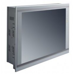 "15"" XGA TFT LCD Slim Touch Panel PC Left"