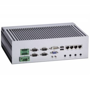 Fanless Embedded EBX401 Rear