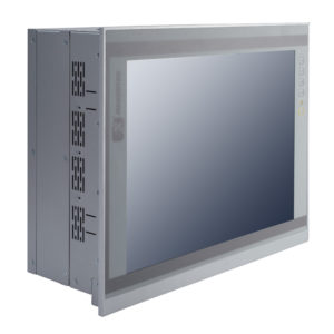 """PAN415 15"""" LCD Slim Touch Panel PC Left"""