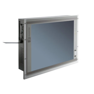"PAN416 19"" LCD Slim Touch Panel PC Left"