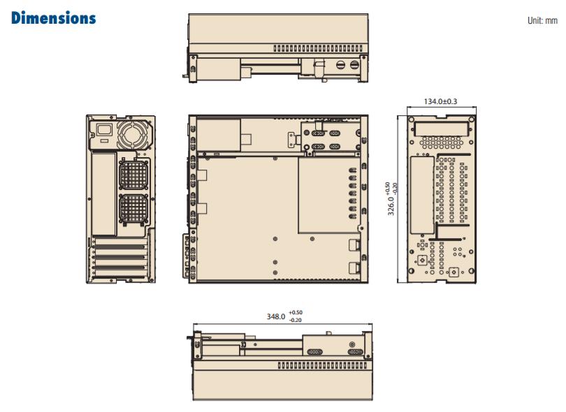 Desktop Chassis Diagram